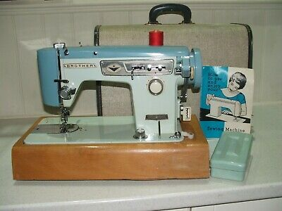 BROTHER 651 Heavy Duty Electric Sewing Machine With Case 'SPARES OR REPAIR'