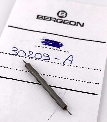 BERGEON 30209 A Reversible driving pins ø 0,40 mm pines relojero NEW 3WC-