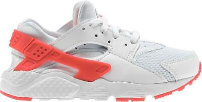 Juniors NIKE HUARACHE RUN PS White Trainers 704951 108