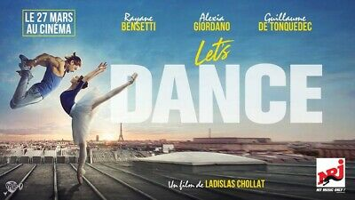 1 x 2 Places De Cinema Let's Dance
