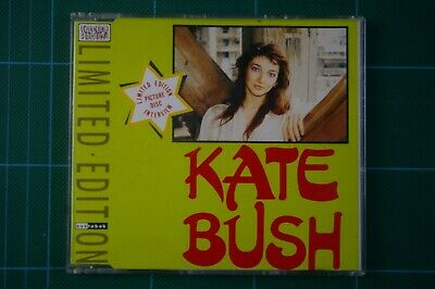 KATE BUSH INTERVIEW 1982 THE DREAMING, 1985 HOUNDS OF LOVE: Ltd Ed CD VGC+ RARE