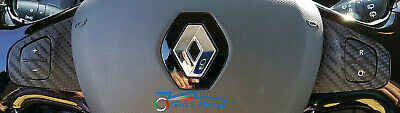 Renault Clio 4 Adesivi Sticker Decal Leve Comandi Volante Tuning Carbon Look