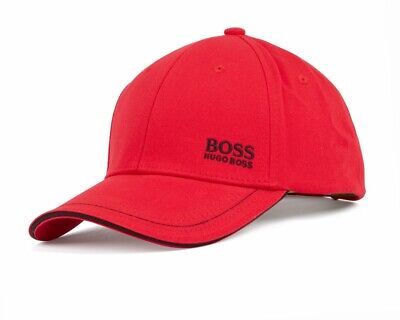 Hugo Boss Cap 1 50245070 622 Mens Baseball Cap Red Golf Cap