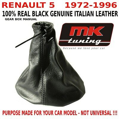 Renault 5 1972-96 Turbo Sport Gt Gear Boot Shift Gaiter Cover Leather