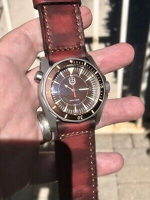 Vintage VDB 2018 Blasted Swiss Automatic ETA 2824 46mm 300m Diver German Made