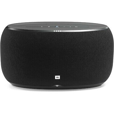 JBL Link 500 Voice-Activated Home Speaker with WiFi Bluetooth Google Assistant
