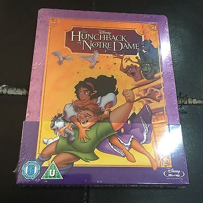 Hunchback of Notre Dame Blu-ray Steelbook | Zavvi exclusive | Disney New Sealed