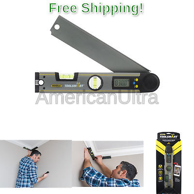 General Tools TS02 ToolSmart Bluetooth Connected Digital Angle Finder, Protra...