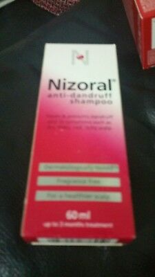Nizoral Anti Dandruff Shampoo 60 ml Fragrance Free
