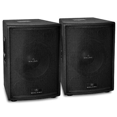 """Pair Of 12"""" Inch Subwoofer Set 3000 W Dj Disco Bass Subwoofers Sub Stage Speaker"""