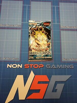 1x Brand New Factory Sealed YugiohDark Crisis Booster Pack Unscaled