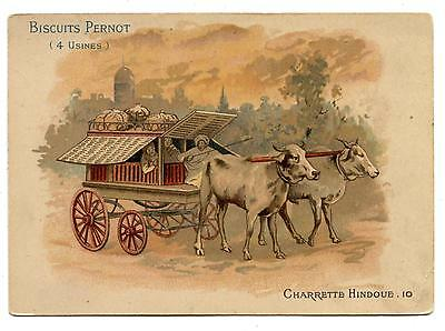 Transports.charrette Hindoue.indian Cart