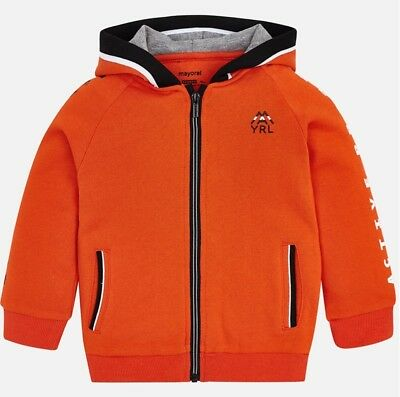 New Boys Mayoral Hoodie With Active Project Print , Age 2 Years , (4419)