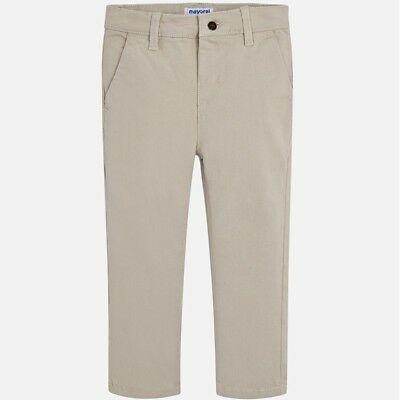 New Boys Mayoral Basic Twill Trousers Slim Fit, Age 2 Years , (513)