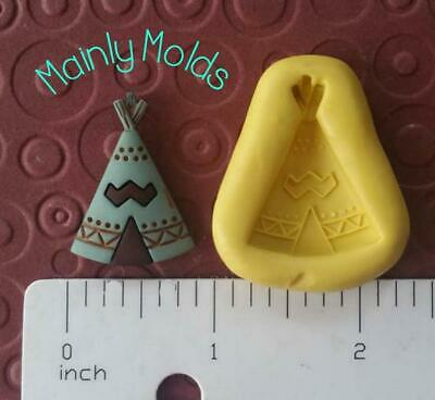 TEE PEE FLEXIBLE silicone mold 4 fondant polymer clay chocolate candy tropical