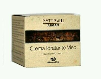 CREMA IDRATANTE VISO NATURVITI ARGAN 40ml IDEA REGALO