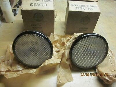 Vintage Guide Tractor Lamps Circa 30'S - 50'S Fits Oliver Plus More Nos