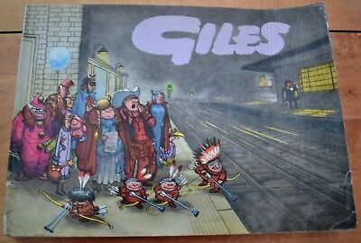 GILES CARTOON ANNUAL No. 13 from 1958-59; Sunday Daily Express; Original