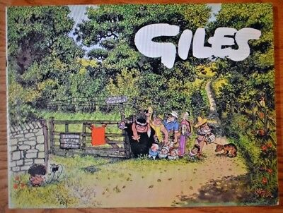 GILES CARTOON ANNUAL No. 33 from 1978-79; Sunday Daily Express; Original