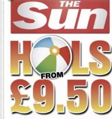 Sun Holidays Booking Codes £9.50 ALL 8 Codes SENT IN RAPID RESPONSE.