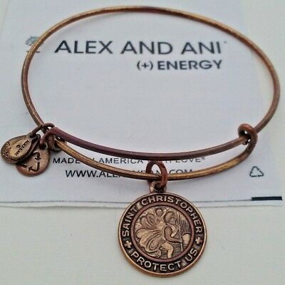 Energy Alex and Ani Boston Bruins Gold Expandable Bracelet +