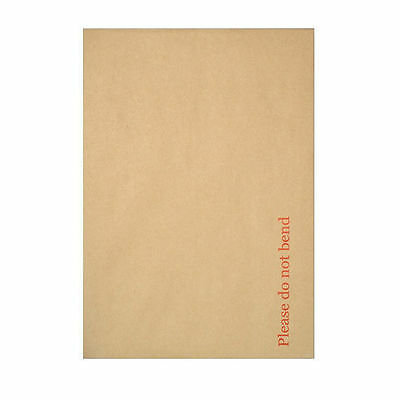 Hard Board Back Brown Envelope Do Not Bend A3 A4 A5 A6  Quick Delivery C4 C5 C6