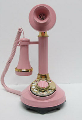 Pink Western Electric Rotary DecoTel Telephone - Full Restoration