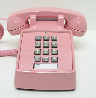 Pink Western Electric 2500 TouchTone Desk Telephone - Full Restoration