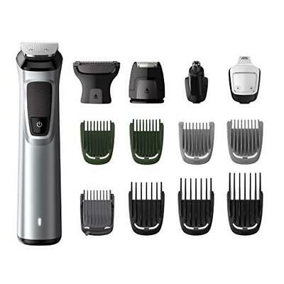 Philips MG7720/18 Serie 7000 Grooming Kit, Rifinitore Impermeabile in Acciaio 14