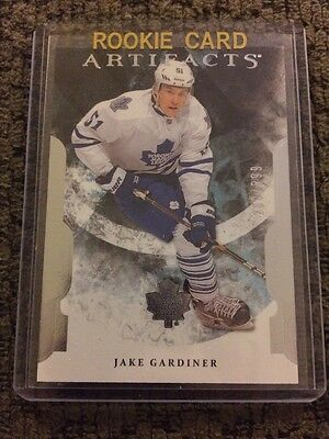 11/12 Upper Deck Artifacts Rookie /699 #228 Jake Gardiner Toronto Maple Leafs