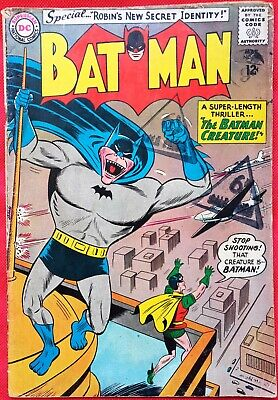 Batman 162 DC Silver Age 1964 The Batman Creature
