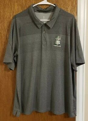 Men's gray NFL Sunday Ticket 25 Years Polo Shirt Size XL - Free Shipping