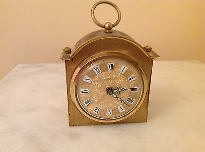 Vintage German Peter Rare  Alarm Clock Glows