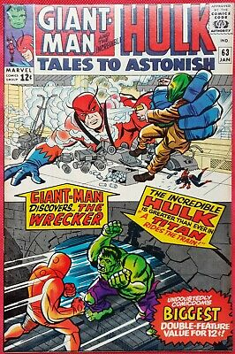 Tales to Astonish 63 Marvel Silver Age 1965 2nd app and origin of The Leader
