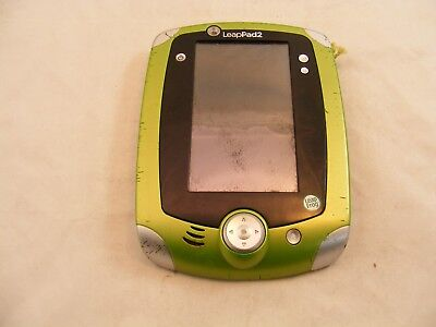 LeapPad 2 For Parts NOT Working - Green