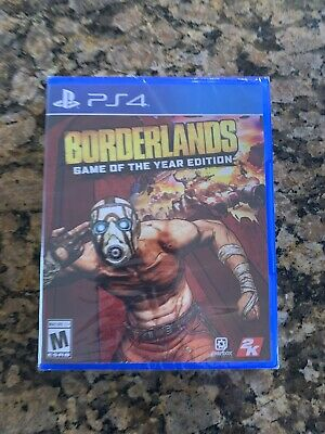 borderlands game of the year edition Ps4 New Eb/gamestop Exclusive Free Ship