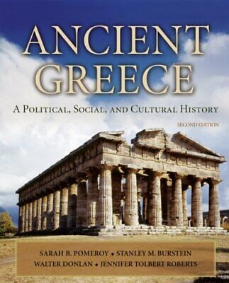 Ancient Greece : A Political, Social and Cultural History, Paperback by Pomer...