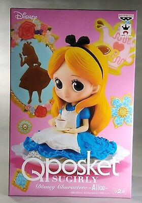 BANPRESTO Q posket Sugirly Disney Characters Figure Alice in Wonderland Alice A