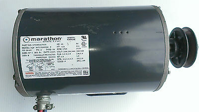 Electric Blower Motor 3/4HP 208-230/460 1725 RPM MARATHON  MOD:KQF 56T17D5535E
