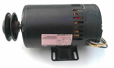 Electric Blower Motor 3/4HP 208-230/460 1725 RPM A.O. SMITH OCA3074