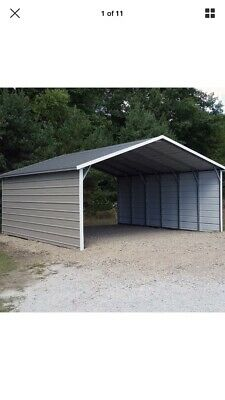 AMISH BUILT 12X24 A-FRAME STORAGE SHED WITH UPGRADED GARDEN