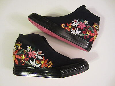 2c3f6c74291f NEW Converse x PatBo Chuck Taylor All Star Lux WEDGE 554865C womens shoe  floral