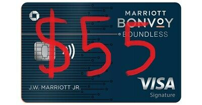 Marriott Bonvoy Chase Rewards Credit card (3 FREE NIGHTS + $65 FROM ME)