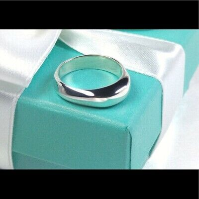 b0c896870 Tiffany & Co. Sterling Twist Band Dome Ring Size 8.5 Sterling Silver NEW  Unisex