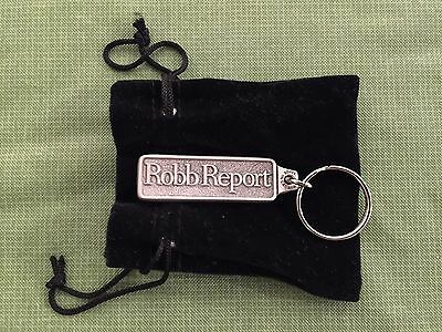 Brand New Robb Report Magazine Key Chain Keychain Made in Canada Dupont Registry