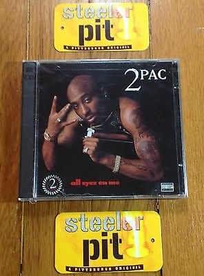 *Extreme Rare*2Pac Tupac~All Eyez On Me~Og Sealed Death Row Cd 2X Lp~No Reissue!