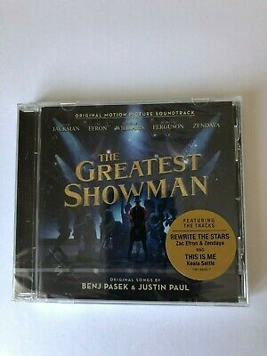 .The Greatest Showman  - Original Motion Picture Soundtrack -  CD Album..SEALED