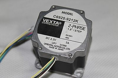 VEXTA Stepper Motor 2-Phase 1.8 degree step DC 2.3V 3A / C6925-9212K