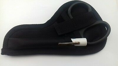 Tuff /tough cut and pen torch pouch with magnetic snap