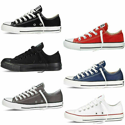 UK Classic Chuck Taylor Low Tops Trainer Sneaker All Stars OX NEW sizes Shoes